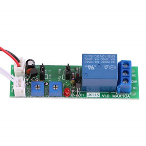 Time Relay Adjustable Cycle Timer Delay On off Switch Relay Moduledc 5v 12v