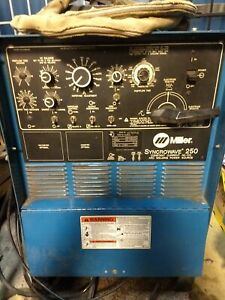 Miller Syncrowave 250 Ac dc welder Machine