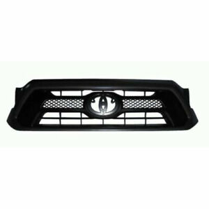 Front Grille Painted gray Fits 2012 2013 2014 2015 Toyota Tacoma