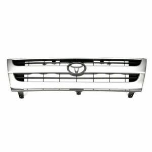 Front Grille 2wd Black Sliver Fits 1997 1998 1999 2000 Toyota Tacoma2wd