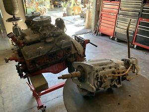 1962 Chevrolet 283 Unmarked Race Engine Matching T10 4 Speed Transmission