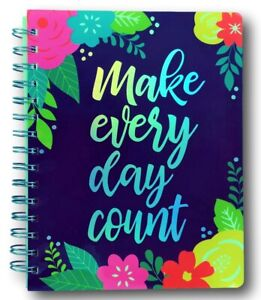 Weekly daily Undated Planner And Organizer With Stickers make Every Day Count