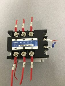 Solid State Relay Mager Mgr 3 032 3825 Z 3phase