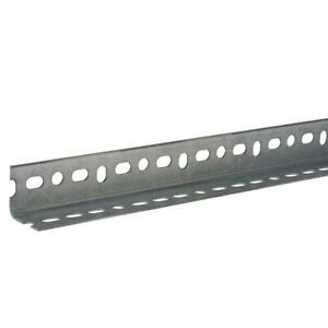 1 1 2 In X 14 gauge X 48 In Zinc plated Slotted Angle