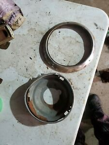 1947 1948 Chevrolet Fleetmaster Headlight Bulb Bucket And Retainer Ring Trim