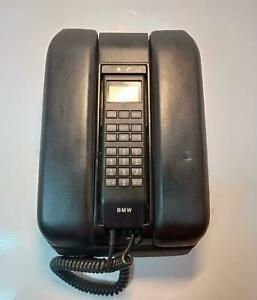 Bmw E38 7 Series Oem Rare Leather Armrest Black With Phone Part 84118385748