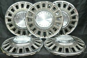 1968 Ford Mustang Hubcaps Wheel Covers Set Of 5 14 Inch