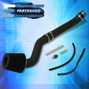 For 96 00 Honda Civic Ex Si Mt Jdm Black Piping Cold Air Intake W 2 75 Filter