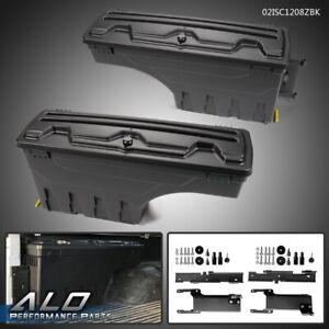 For 2015 2019 Ford F 150 Rear Left Right Side Truck Bed Storage Box Toolbox