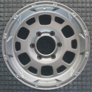 Toyota Fj Cruiser Silver No Outer Ring 16 Inch Oem Wheel 2010 To 2014