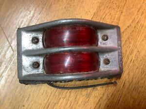 Dietz 96 Truck Light Trailer Lamp Roof Cab Rear Marker Red Dietz 897 Lens