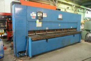 Used Cincinnati 1 2 X 12 Hydraulic Metal Shear 36 Backgauge 25 Hp