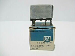 Nos 1966 72 Gm Cars Chevelle Power Seat Relay New Gm Nos Old Stock Gm 5717528