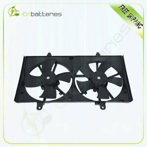 Electric Dual Radiator Cooling Fan Fit For 2002 2006 Nissan Altima 674 59658