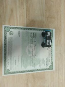 1931 Ford Model A Coupe Paperwork Document
