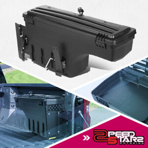 Right Side Truck Bed Wheel Well Swing Case Tool Box For 2005 2019 Toyota Tacoma