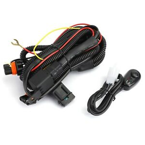 Fog Light Wiring Harness Fit Chevy Silverado 2003 2006 2007 Classic 1500 2500