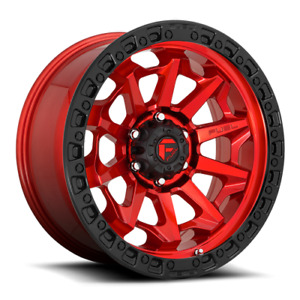 16 Inch Red Black Rims Wheels Toyota Tacoma 4 Runner Fuel Covert D695 16x8 4