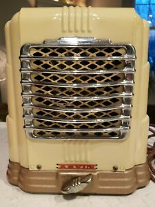 Vintage Art Deco Arvin 1940s Heater Model 203a Nice Condition