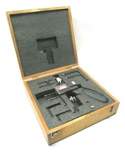 Starrett 375 To 6 000 Dial Indicator Groove Gage W Case 1175
