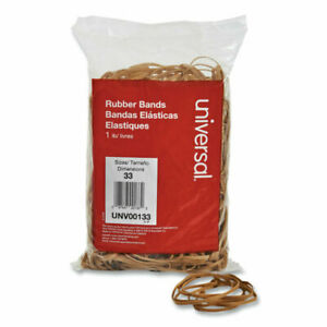 Universal Rubber Bands Size 33 3 1 2 X 1 8 640 Bands 1lb Pack 00133