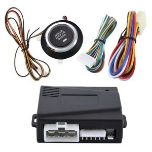 Car Alarm Universal 12v Car One key Start Modification System Remote Preheating