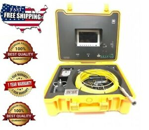 Sewer Drain Pipe Cleaner 1 Inspection Video Snake Camera Lcd 7 Usb 65 Ft 1 4