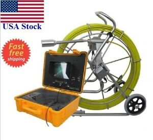 Sewer Self Leveling 1 5 Video Snake Camera 10 Lcd 200f 3 8 Cable Ft Counter