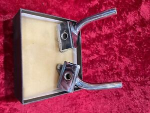 Packard Senior 1934 Pair Rear Bumper Mounted Chrome Trunk Rack Support Used