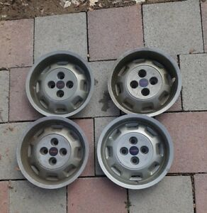 4 Triumph Tr7 Original Hubcap Wheel Covers