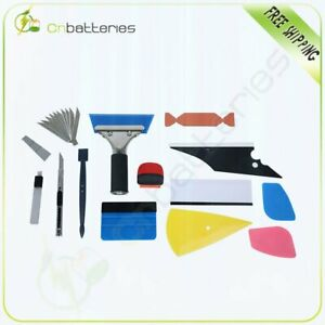 13 Pcs Car Window Film Tint Tools Kit Auto Car Vinyl Wrap Application Tint Film