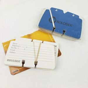 Rolodex Cards Petite Refill Cards 2 1 4 X 4 67553 Name Cell Address Email