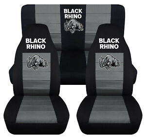 Fits Front And Rear Seat Covers For 2003 2006 Jeep Wrangler Tj Rhino Design