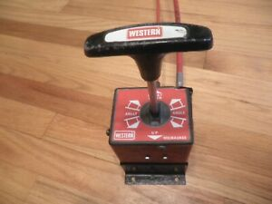 Western Snow Plow Isarmatic T Stick Cable Operated Pump Controller And Cables