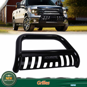 3 Bull Bar For 2016 2020 Toyota Tacoma Push Front Bumper Grill Grille Guard Us