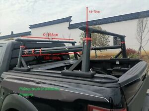 Fits Toyota Tacoma Ledder Cargo Luggage Bar Racks Pickup Truck Bed 2012 2020