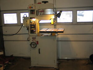 Msc Vertical Bandsaw By Vectrax 14 1 8 Throat 25 To 117 M min W Blade Welder