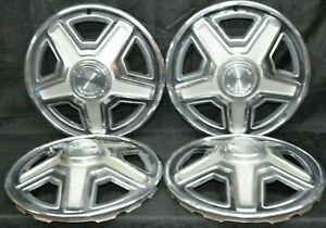 1969 Ford Mustang Hubcaps 14 Set Of 4 Wheel Covers 69 Hub Caps