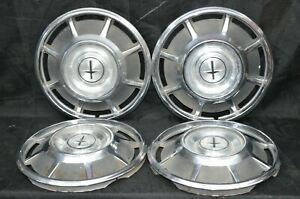1966 1969 Chevrolet Chevy Corvair Monza 13 Hubcaps Wheel Covers Set Of 4 3014a