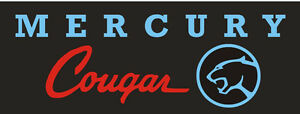 C037 Mercury Cougar Muscle Sports Classic Car Truck Banner Garage Signs