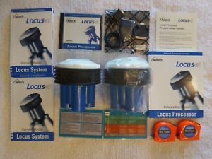 Two 2 Ashtech sokkia Locus Gps Receivers With Software Accessories