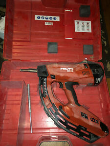 Hilti Gx3 Gas Actuated Fastener Tool With Case Hilti Gx 3