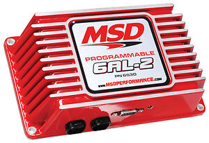 Msd 6530cr Programmable 6al 2 Ignition Box factory Refurb