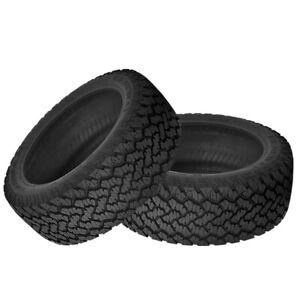 2 X New General Grabber At2 265 70 16 112s All Terrain Control Tire