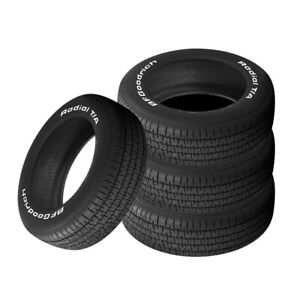 4 X New Bf Goodrich Radial T a P205 70r14 93s Tires
