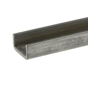 2 In X 36 In Plain Steel C channel Bar With 1 8 In Thick