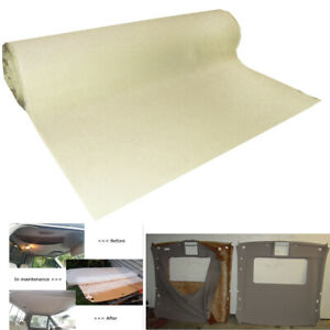 Foam Headliner Fabric Materials Can Matches The Original Perfectly 132 X 60
