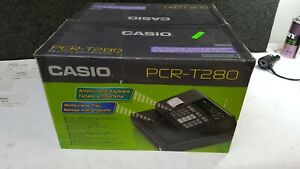 Casio Pcr t280 Electronic Cash Register With Thermal Print