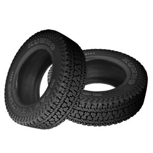 2 X New Kumho At51 Road Venture At 255 70 17 110t All terrain Handling Tire