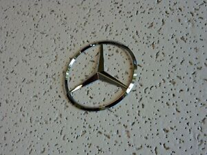 New For Mercedes Benz Chrome Star Trunk Emblem Badge 90mm Free Us Shipping